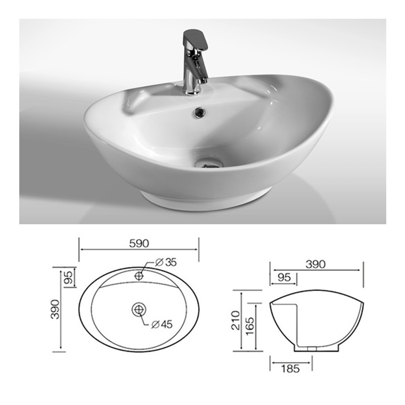 ... Ceramic-Bathroom-Countertop-Basin-Sink-Corner-OR-Back-To-Wall-Compact